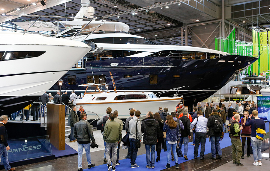 Very successful start of boot D�sseldorf 2016