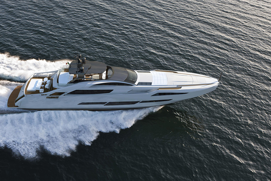 Giving birth to Pershing 140, the new flagship